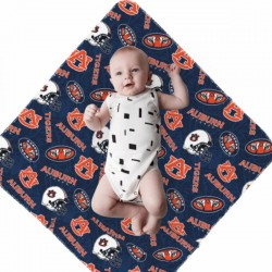 Durable Auburn University Tigers Newborn Swaddle Blanket #883799 soft and smooth against your baby's skin
