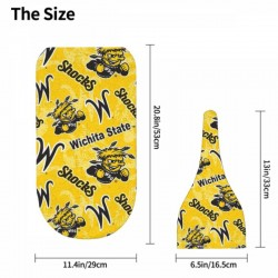 Soft Wichita State Shockers Newborn Swaddle Blanket #881148 long-lasting durability and easy care
